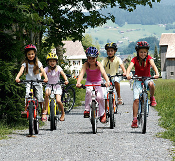 Mountain biking for children