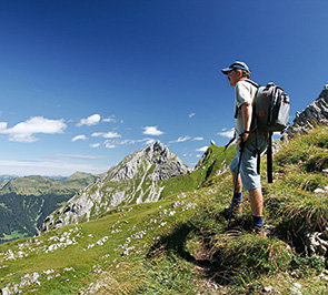 Walking,climbing and mountain biking in the Bregenzerwald