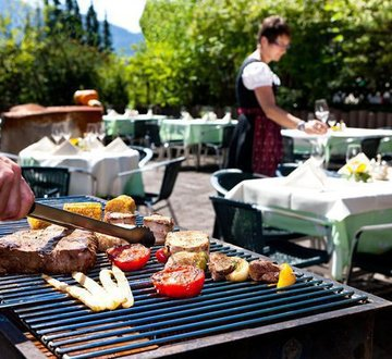 Barbeque on the terrace