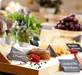 A varied selection of Bregenzerwald cheeses